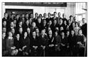 Выпускники Исменецкой ср.школы в честь торжества 100-летия школы (октябрь 1976 год)