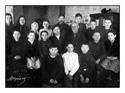 Кушаков С.М. и директор школы Яндулов П.И. среди уч-ся 7 класса (январь 1949-50 уч.года)